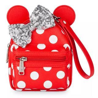 ディズニー(Disney)のUSディズニー公式 ミニーマウス ミニーハンドバッグ ラウンジフライ(ボディバッグ/ウエストポーチ)