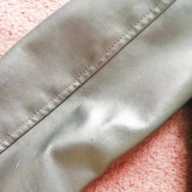 GU(ジーユー)のGU ライダースジャケット 140 キッズ/ベビー/マタニティのキッズ服女の子用(90cm~)(ジャケット/上着)の商品写真