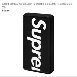 シュプリーム(Supreme)のSupreme /Mophie Powerstation Wireless XL(バッテリー/充電器)
