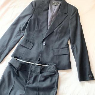 エニィスィス(anySiS)のAnysis 黒ストライプスーツ M(スーツ)