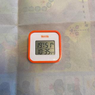 タニタ(TANITA)のTANITA 温度・湿度計 デジタル時計(日用品/生活雑貨)