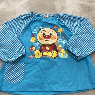 バンダイ(BANDAI)のアンパンマン☆お食事エプロン95センチ(お食事エプロン)