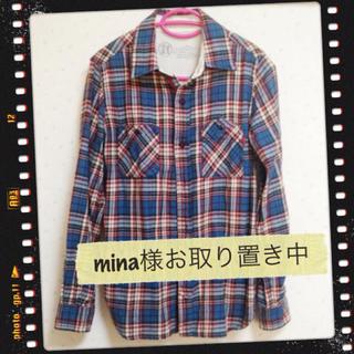 ダブルネーム(DOUBLE NAME)のDOUBLE NAMEチェックシャツ(シャツ/ブラウス(長袖/七分))