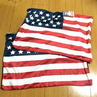シマムラ(しまむら)のしまむら星条旗ロンハーマン枕カバー2点(シーツ/カバー)