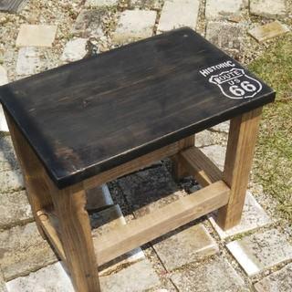 ローテーブル スツール 飾り棚(家具)