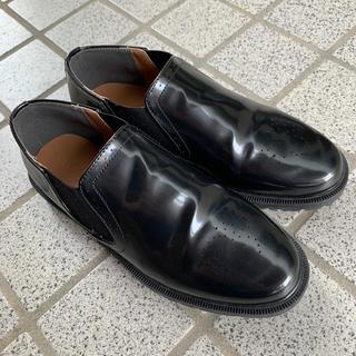 メルロー(merlot)のウイングチップサイドゴアシューズ(ローファー/革靴)