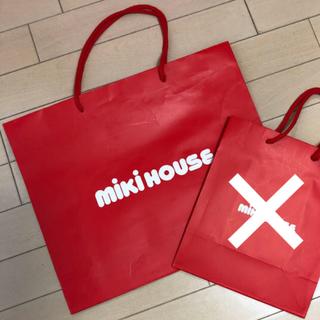 ミキハウス(mikihouse)のmiki house ★ ミキハウス ショップ袋 紙袋(ショップ袋)
