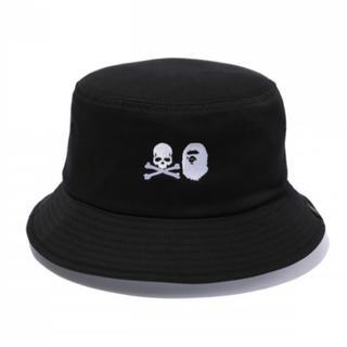 アベイシングエイプ(A BATHING APE)のMM VS BAPE BUCKET HAT M BLACK(ハット)