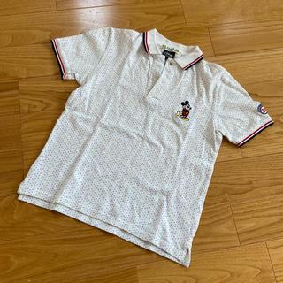 ビームス(BEAMS)の超美品 beams ポロシャツ 0サイズ ビームス S〜M ディズニー ミッキー(ポロシャツ)