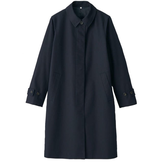 MUJI (無印良品)(ムジルシリョウヒン)の無印 スプリングコート ステンカラーコート L レディースのジャケット/アウター(スプリングコート)の商品写真