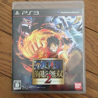 プレイステーション3(PlayStation3)の説明書なし ワンピース 海賊無双2 PS3(家庭用ゲームソフト)