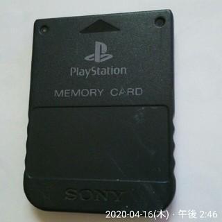 プレイステーション(PlayStation)のプレステ メモリーカード ソニー 黒(その他)