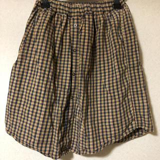 スピンズ(SPINNS)のギンガムチェックスカート(ひざ丈スカート)