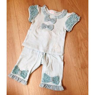 シャーリーテンプル(Shirley Temple)のシャーリーテンプル リボンセット90(Tシャツ/カットソー)