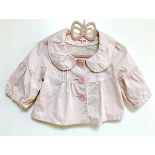 シャーリーテンプル(Shirley Temple)のシャーリーテンプル  ショートジャケット ピンク 100(ジャケット/上着)