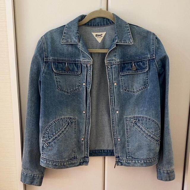 Ron Herman(ロンハーマン)のRHC デニムジャケット メンズのジャケット/アウター(Gジャン/デニムジャケット)の商品写真