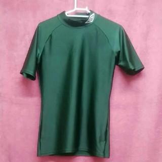 アンブロ(UMBRO)のumbro コンプレッション インナーシャツ 半袖 メンズL相当(トレーニング用品)