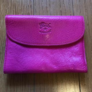 イルビゾンテ(IL BISONTE)のイルビゾンテ ピンク 財布(財布)
