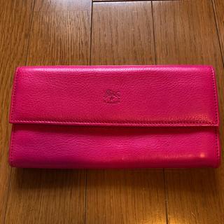 イルビゾンテ(IL BISONTE)のイルビゾンテ ピンク 長財布(財布)