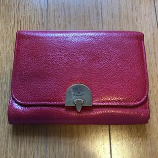イルビゾンテ(IL BISONTE)のイルビゾンテ 赤色 財布(財布)