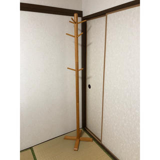 オオツカカグ(大塚家具)のポールハンガー 条件につき割引(棚/ラック/タンス)