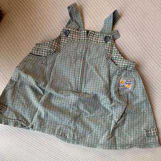 ラスティ(RUSTY)のラスティー   ジャンパースカート 90cm(スカート)