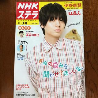 NHKステラ 3/8号 【伊野尾慧さん】(アート/エンタメ/ホビー)