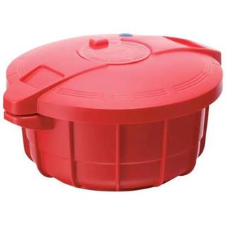 マイヤー(MEYER)のMEYER マイヤー 電子レンジ圧力鍋 2.3L オレンジ 調理器具(鍋/フライパン)