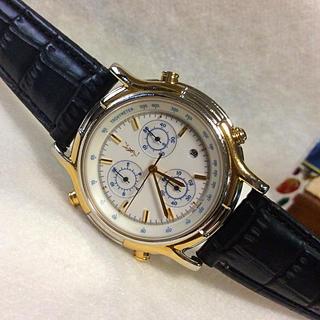 サンローラン(Saint Laurent)の希少‼️ イヴ・サンローラン クロノグラフ メンズ 腕時計(腕時計(アナログ))