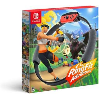 ニンテンドースイッチ(Nintendo Switch)の10台セット リングフィットアドベンチャー(家庭用ゲームソフト)
