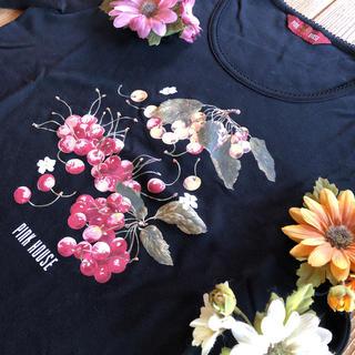 ピンクハウス(PINK HOUSE)のあみぼー様専用❣️チェリーロング丈Tシャツ🍒新品💖(Tシャツ/カットソー(半袖/袖なし))