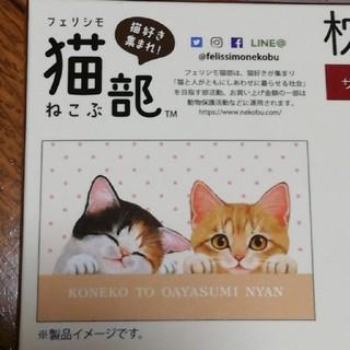 フェリシモ(FELISSIMO)のフェリシモ猫部 枕カバーまくらカバーねこネコFELISSIMOしまむら(シーツ/カバー)