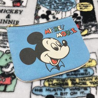 シマムラ(しまむら)の【値下げしました!】しまむら ディズニー オールドミッキー ポーチ(ポーチ)