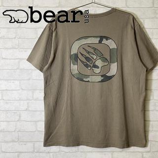 ベアー(Bear USA)のBear USA ベアー 迷彩 ミリタリー ビッグプリント T-shirt(Tシャツ/カットソー(半袖/袖なし))