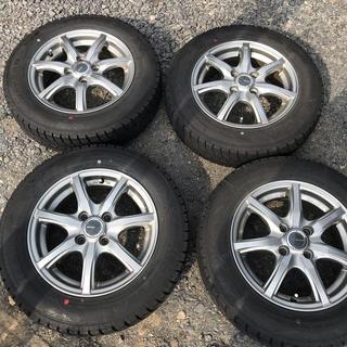 グッドイヤー(Goodyear)のアクア  スタッドレスタイヤ 14インチ 4本セットホイール付き(タイヤ・ホイールセット)