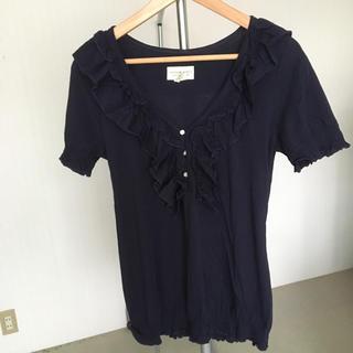 デニムアンドサプライラルフローレン(Denim & Supply Ralph Lauren)のラルフローレン デニム&サプライ フリルTシャツ(Tシャツ(半袖/袖なし))