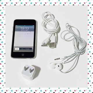 アイポッドタッチ(iPod touch)のiPod touch*8GB イヤフォン&充電ケーブル&充電コンセント付(ポータブルプレーヤー)