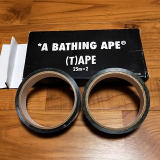 アベイシングエイプ(A BATHING APE)のA BATHING APE 柄付 ビニールテープ(アート/エンタメ/ホビー)