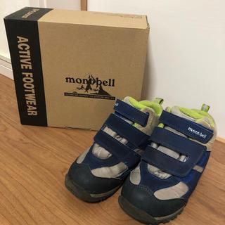 モンベル(mont bell)の登山靴 キッズ mont-bell(アウトドアシューズ)
