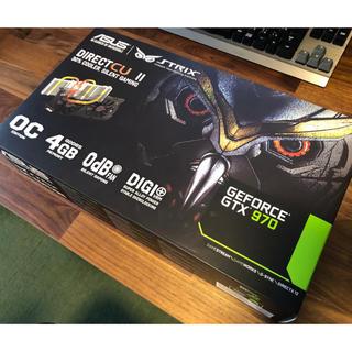 エイスース(ASUS)の ASUS ROG STRIX GTX970 4GB(PCパーツ)