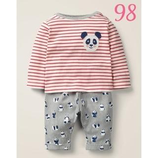 ボーデン(Boden)の(訳あり)Baby Boden パンダプレイセット 98(Tシャツ/カットソー)