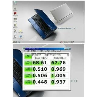 エイサー(Acer)のacer Aspire one ZG5 (使用時間565時間)(ノートPC)