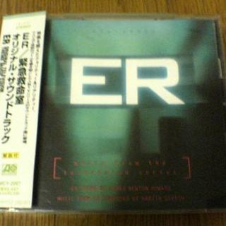 海外ドラマサントラCD「ER 緊急救命室」★(テレビドラマサントラ)