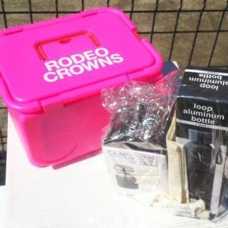 ロデオクラウンズワイドボウル(RODEO CROWNS WIDE BOWL)の最新RODEO CROWNS大人気ノベルティお買得セット♪これは買わなきゃ損❗️(弁当用品)
