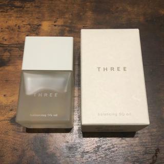 スリー(THREE)のひまわり様専用【新品】THREE バランシング SQ オイル(オイル/美容液)