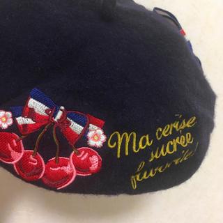 スイマー(SWIMMER)のスイマー 紺ベレー(ハンチング/ベレー帽)