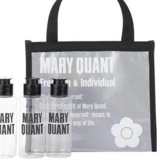 マリークワント(MARY QUANT)のマリークワント スパバッグ(白)&詰め替え用ボトル3本セット(その他)