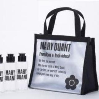 マリークワント(MARY QUANT)のマリークワント スパバッグ(黒)&詰め替え用ボトル3本セット(その他)