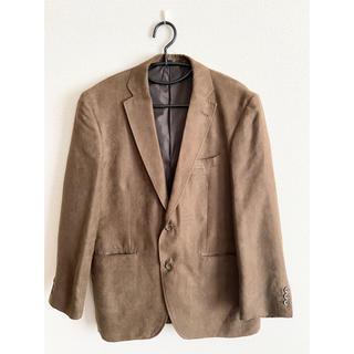 しまむら - ジャケット(スウェード風) 茶色
