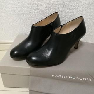 FABIO RUSCONI - 【未使用】Fabio Rusconiショートブーツ